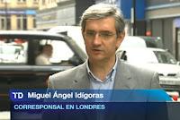 Miguel Ángel Idígoras sustituyó a Anna Bosch en la corresponsalía de Londres