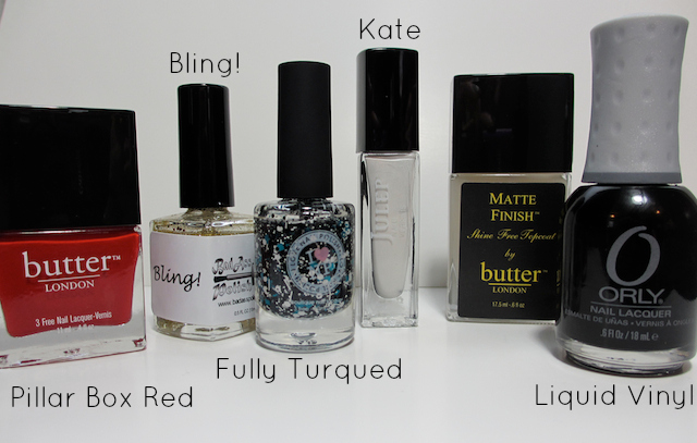 Butter London Orly Julep I Love Nail Polish Skittlette