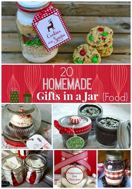 20 Best Homemade Gifts in a Jar for Christmas