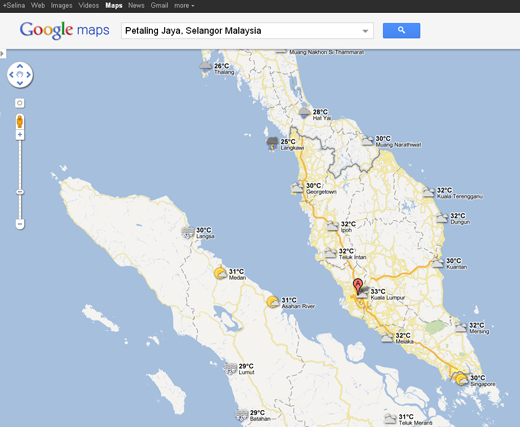 New Weather in Google Maps! - Selina Wing - Deaf Geek Blogger