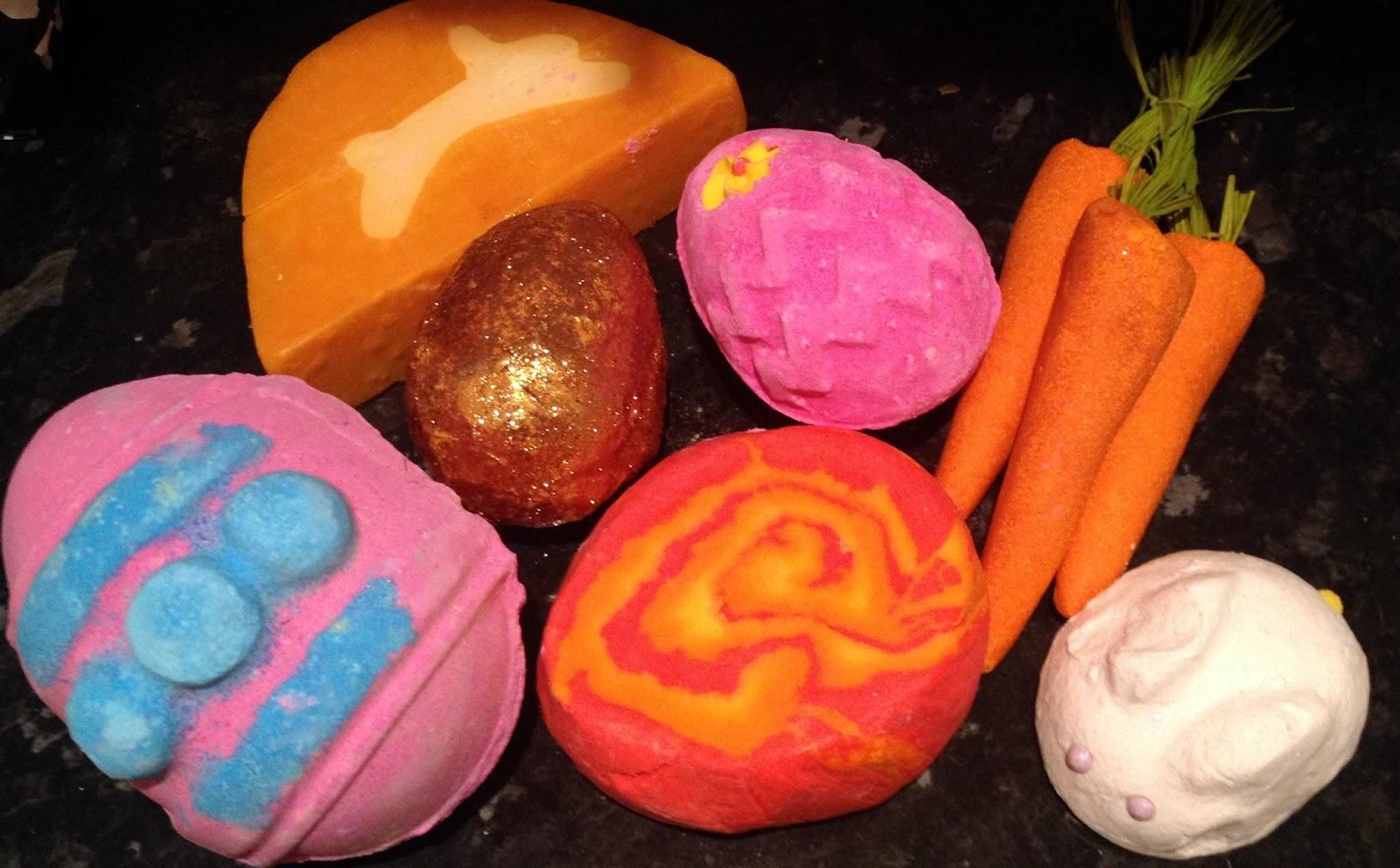 Lush's Easter Range 2014.