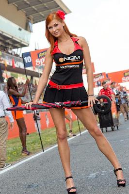 Barisan Model Seksi MotoGP Spanyol 2013