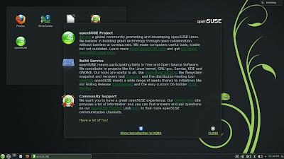 OpenSUSE 12.3 KDE Plasma