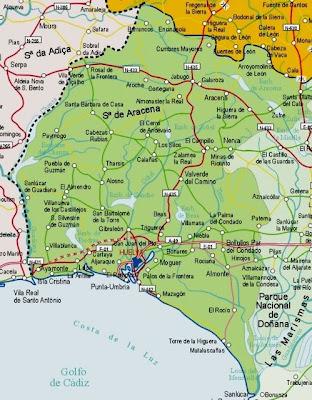 Huelva mapa