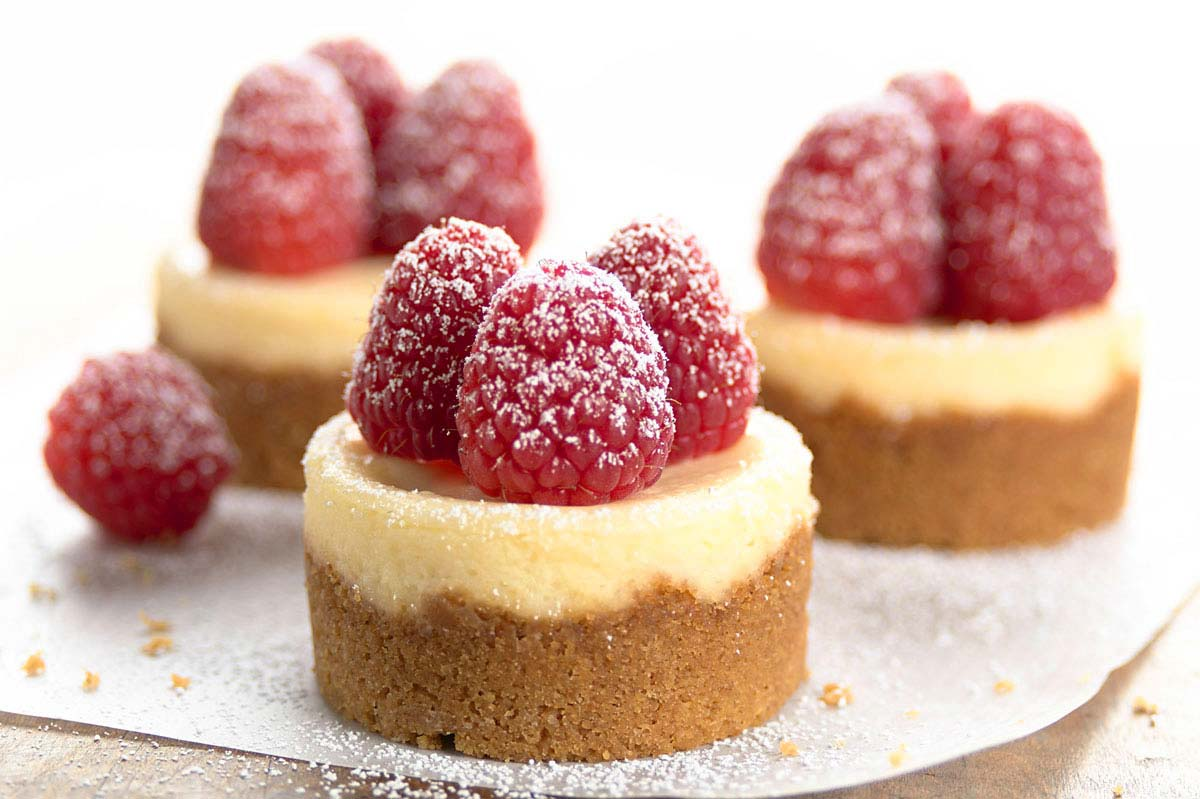 cheesecakes mini toffee crunch cheesecakes drunken mini cherry ...