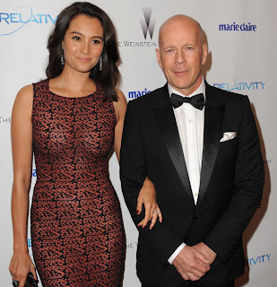 Bruce Willis With Wife