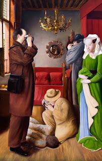 El elogio de la mirada, una mirada neoclasicista en el CENART