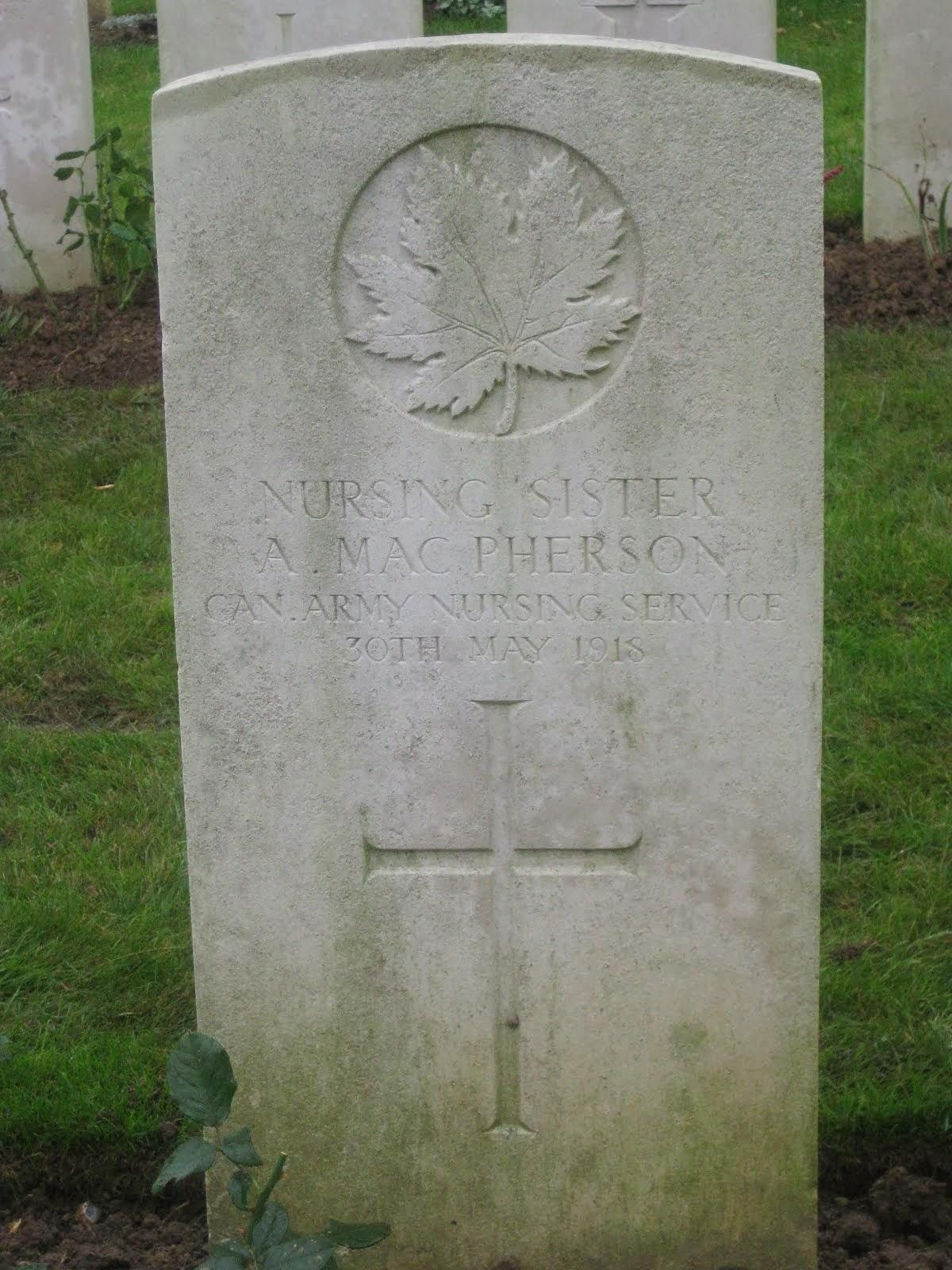 NS Agnes MacPherson's Grave