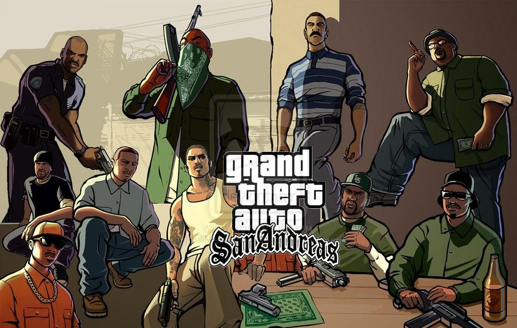 Cheat Tamat GTA San Andreas PC | cheat game