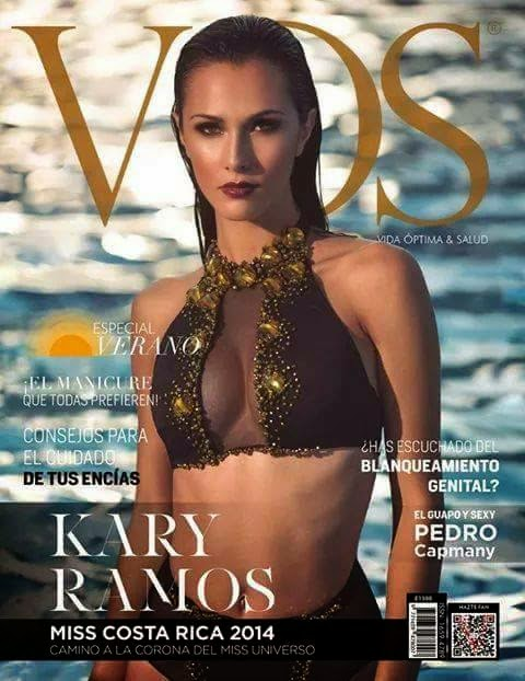 Karina Ramos - VOS Magazine, Costa Rica, January 2015