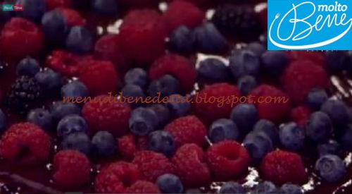 Choco berry pie ricetta Parodi per Molto Bene