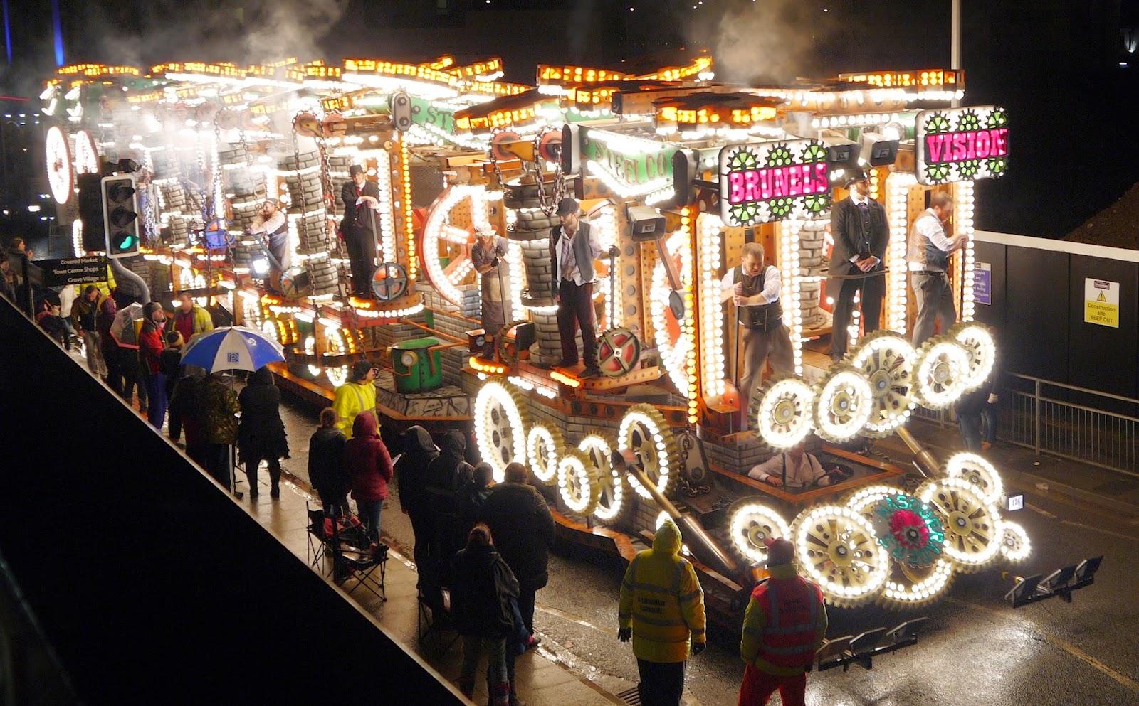 Masqueraders Carnival Club at Weston Super Mare Carnival 2014