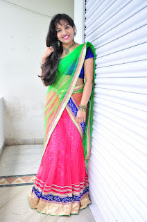 New actress Roshini half saree Picture shoot 038.jpg