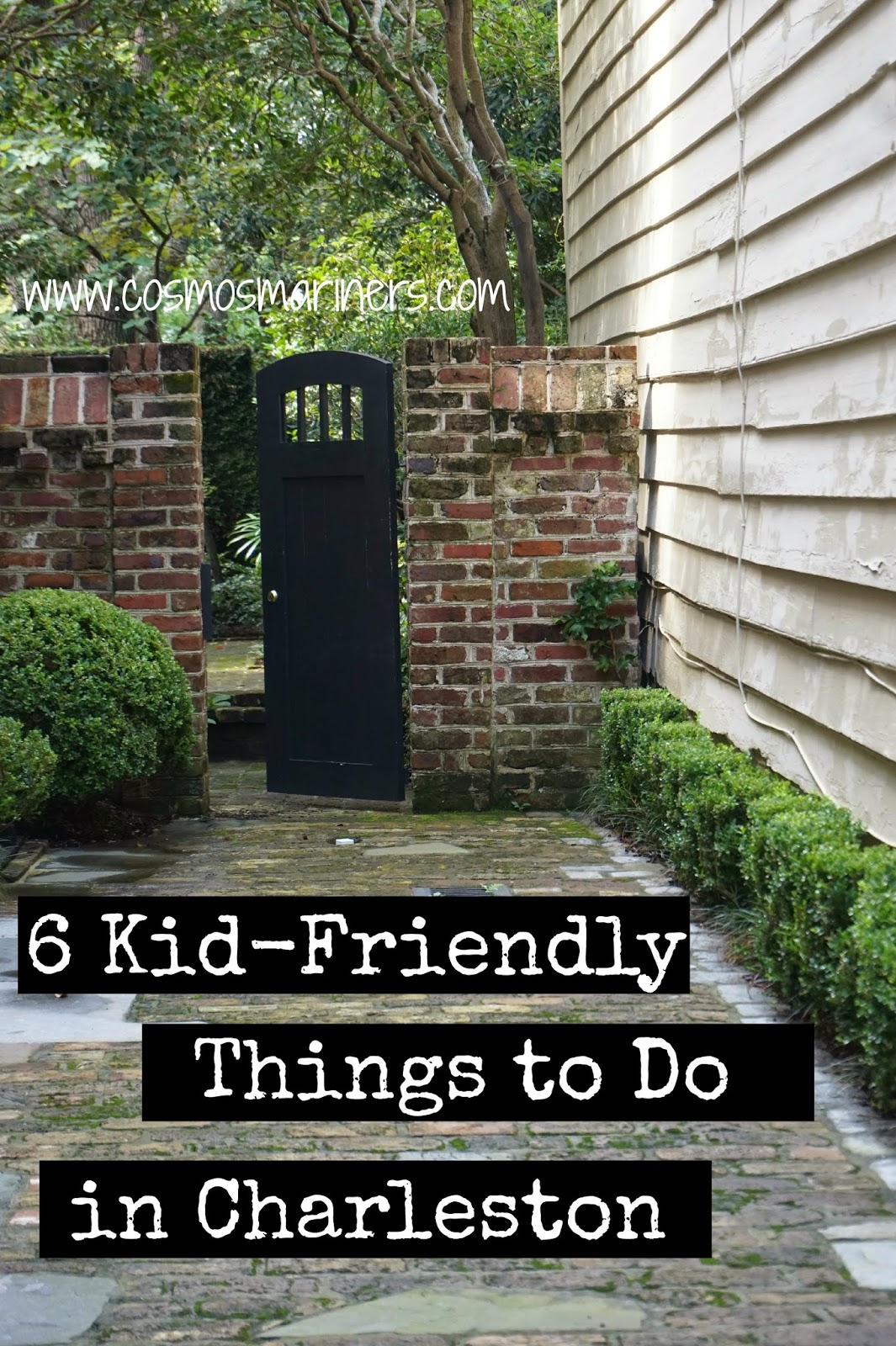 6 kid friendly things to do in charleston cosmos mariners for Things to charleston sc