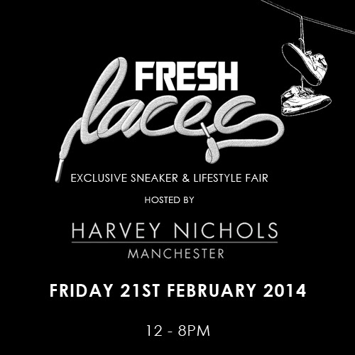 fresh laces, harvey nichols, manchester, sneaker event, sneakerheads