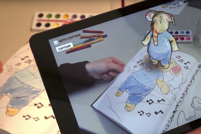 Schöne neue Welt der Malbücher | Disney experimentiert mit Augmented Reality