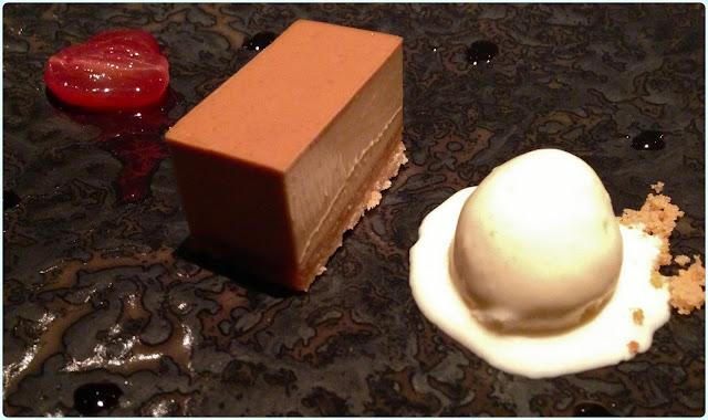 The Ledbury, London - Brown Sugar Tart