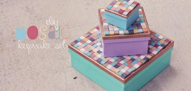 Kids DIY memory box