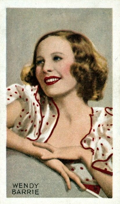 Wendy Barrie #1930s #beauty #30s #fashion #red #polkadot