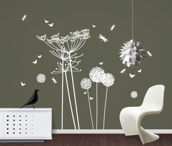 funky little darlings blog gt white dandelions and
