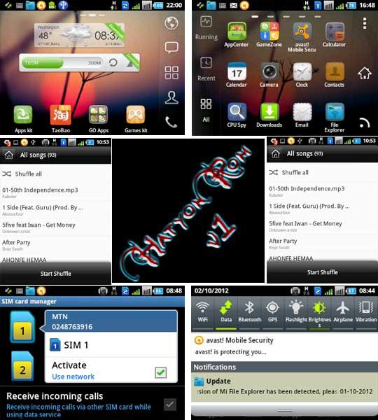 HatyonRom v1 for Samsung Galaxy Y pro duos GT-B5512