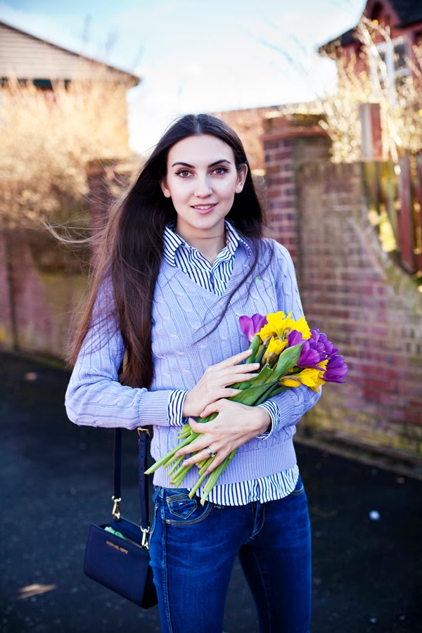 russian fashion blogger, street style russia, london, long brown hair