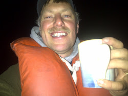 Cup of Hot Chocolate While Out Kayaking!