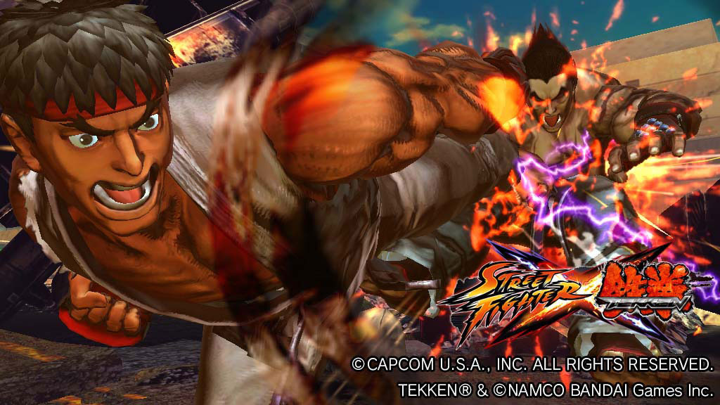 Street Fighter X Tekken tendrá modo multijugador para 4 jugadores