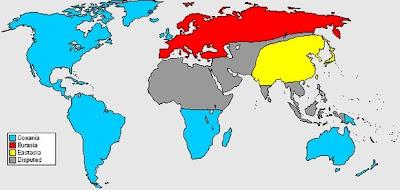 EUbrainwashing Oceania Eurasia And Eastasia The PNAC World View - East asia oceania map