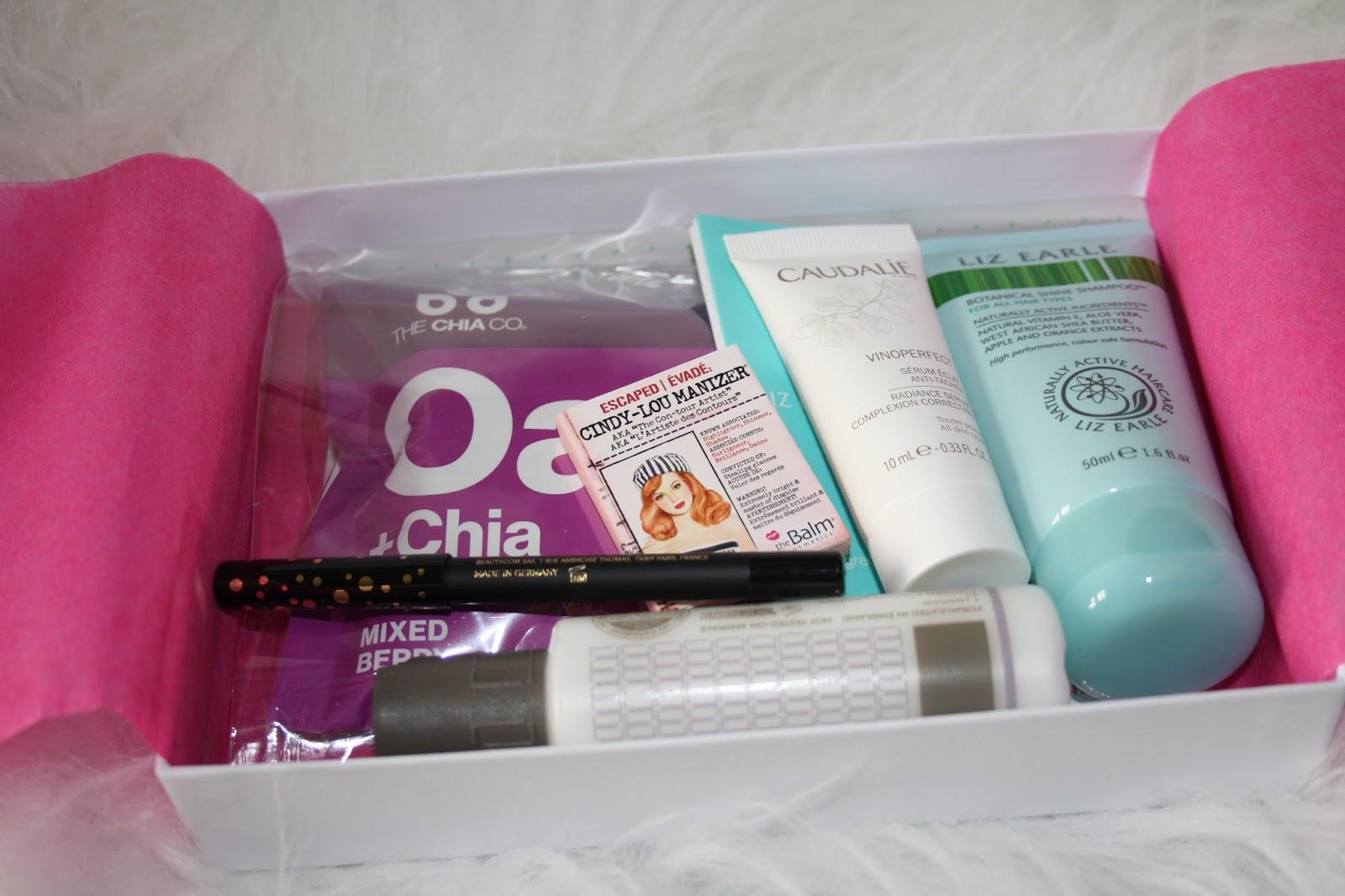 Birchbox Slimbox Contents