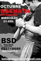 BACHATA EN OCTUBRE EN BSD BAILAS MÁLAGA CENTRO.