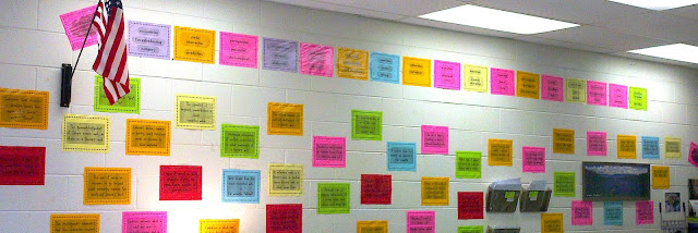 Superb Test Prep Activity by Ann Marie Smith Students take turns, web of learning