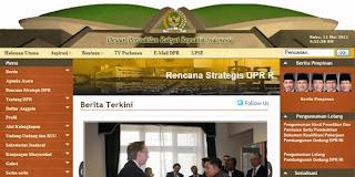 Situs Resmi DPR - RI