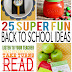 25 Fun Back To School Ideas