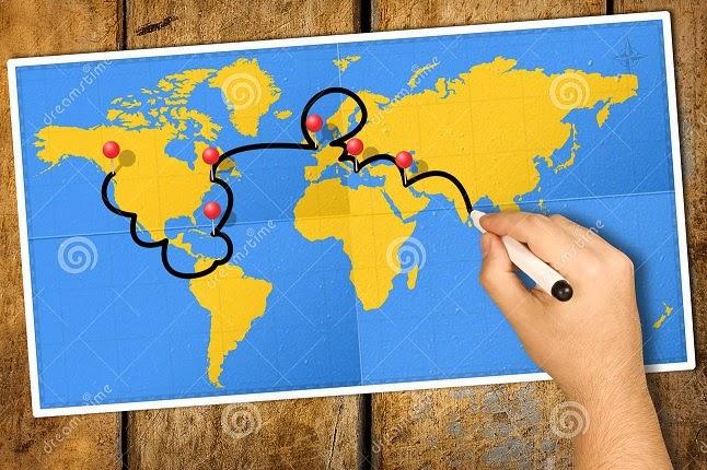 Comparte tu itinerario de viaje