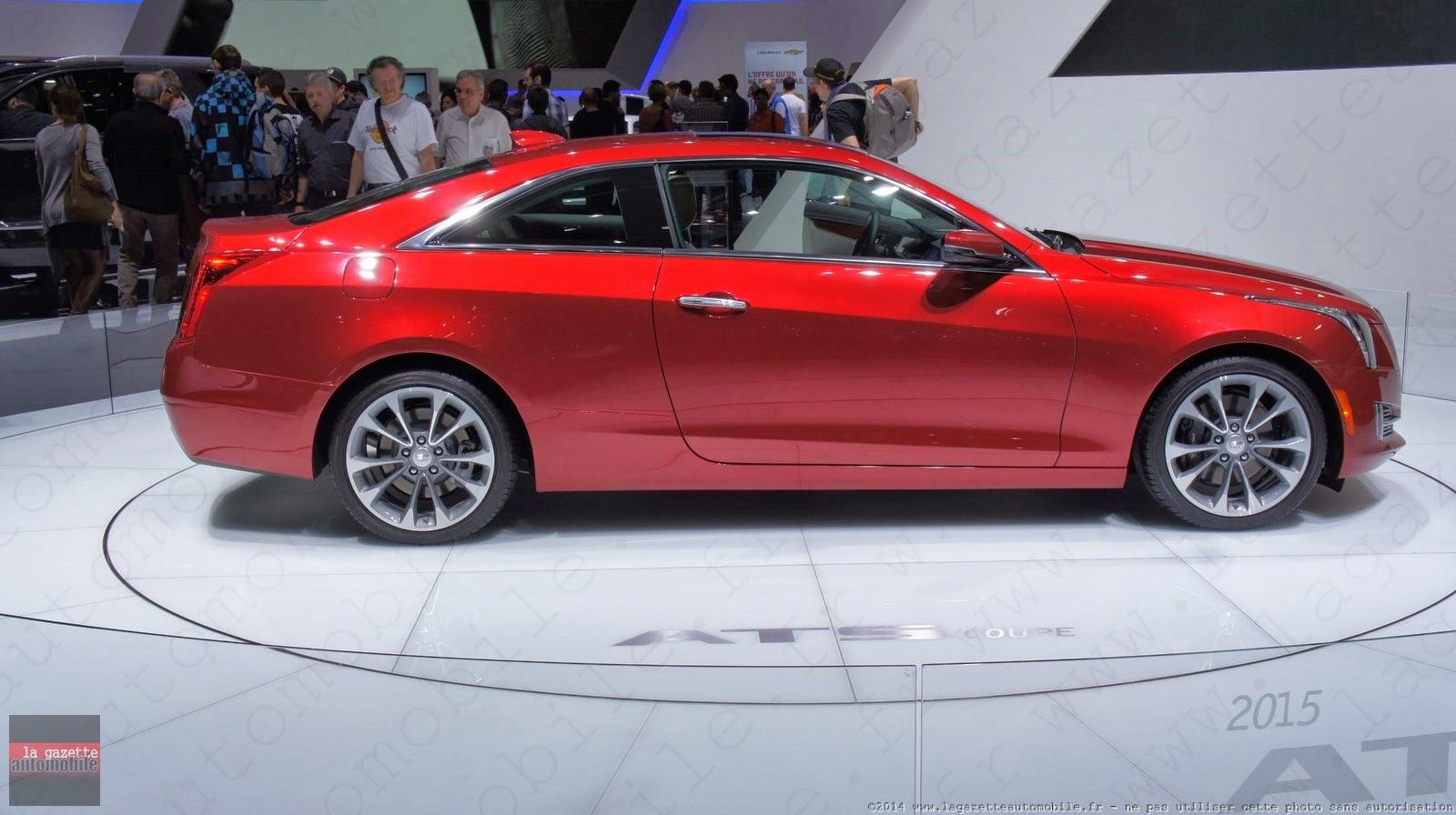 Genève : Cadillac ATS Coupé