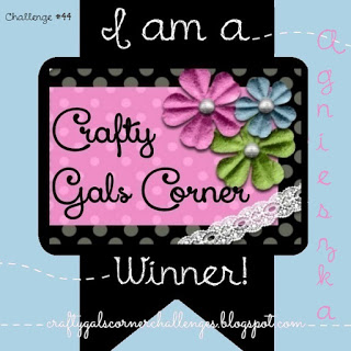 I won - Crafty Gals Corner
