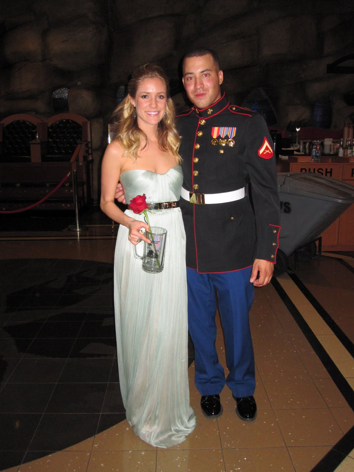 Hills Freak: Kristin Cavallari: Belle Of The Marine Corps Ball