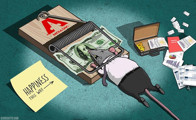 The Sad Truth About Today's World Illustrated By Steve Cutts