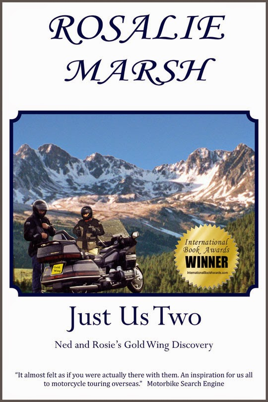 Award winning Just Us Two:Ned and Rosie's Gold Wing Discovery.