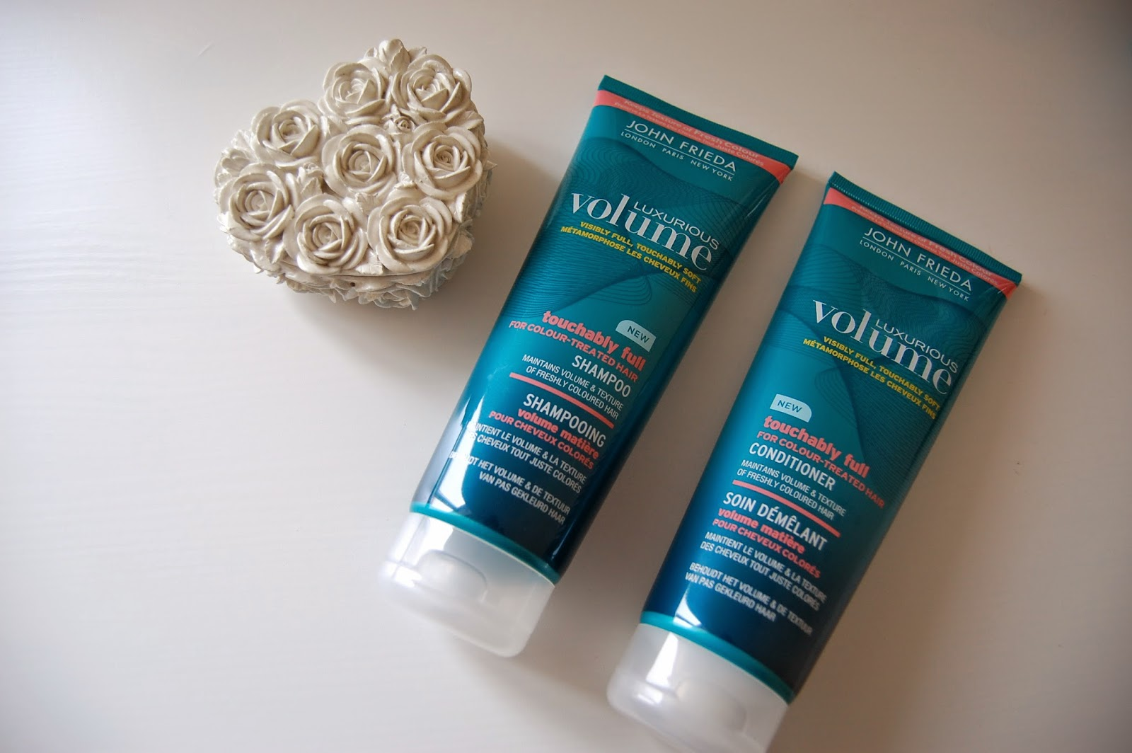 John Frieda Luxurious Volume Shampoo and Conditioner