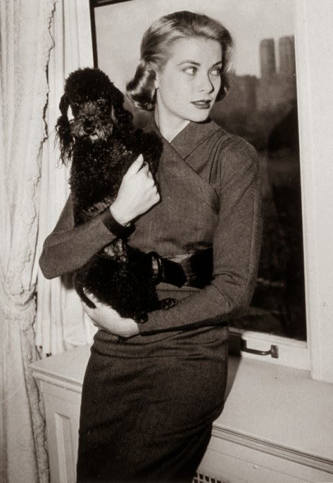 puppy - princess grace kelly of monaco style icon