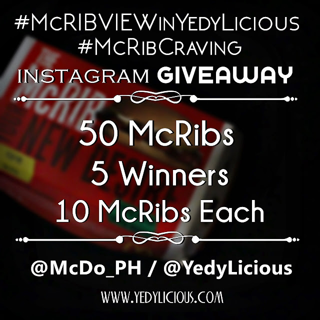 McRib at McDonald's Philippines