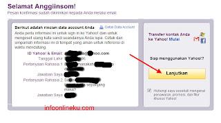 rincian+data+account+Anda Daftar Email Baru Yahoo   Buat email Baru Di Yahoomail Indonesia