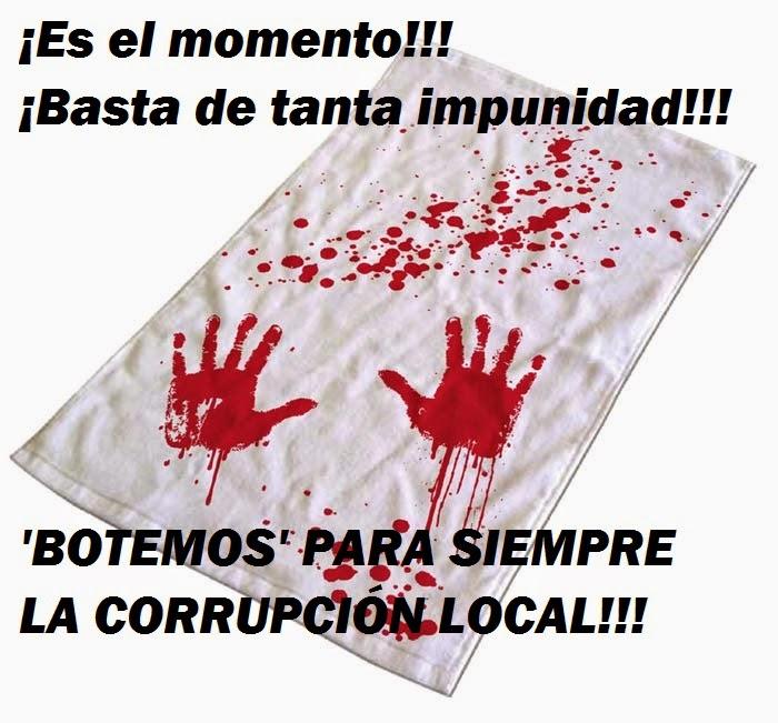 BASTA DE CORRUPCIÓN EN SAN BENITO