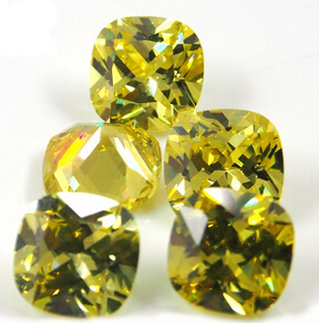 Cushion_Cut_Color_CZ_Stones_China_Wholesale