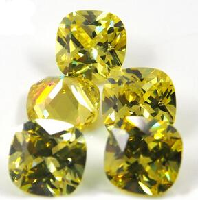 Cushion_Cut_Color_CZ_Stones_China_Wholesale