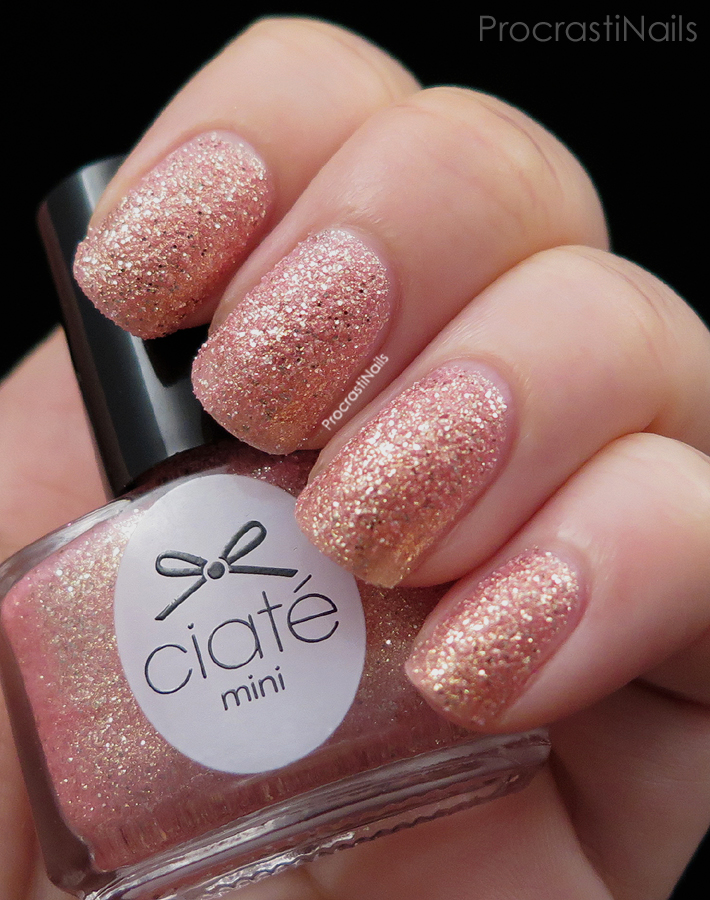Swatch of Ciate Mineral Love from the Mini Mani Manor Advent Calendar