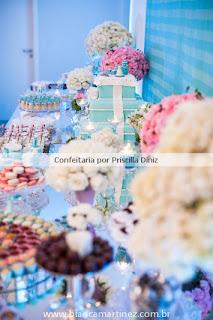 cha amanda 12 Chá de Cozinha Tiffanys inspired !!