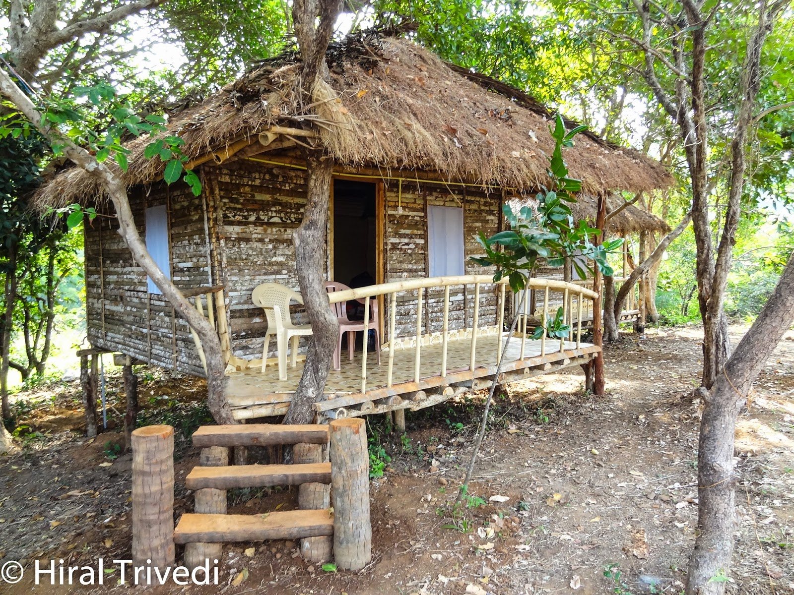 This wooden cottage at the Kudle Beach in Karnataka was cozy enough to spend smoe quiet time away from the madness.